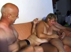French bisexous three with lush wifey