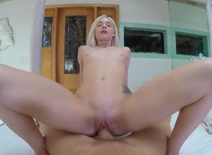 Ash-blonde sexy coed and porn industry..