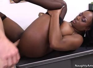 Huge globes Jada Fire drilled when..