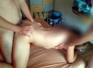 French gf boinked in motel apartment..