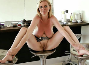 Euro mature wifey makes her husband..