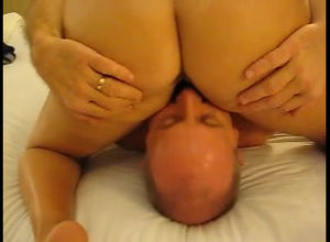 pummel wife's snatch while her..