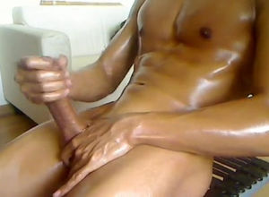 Oiled, trimmed flawless  fellow  for..