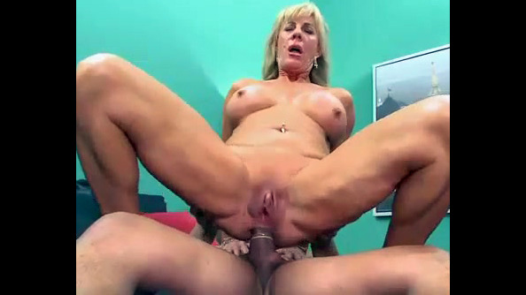 This blondie mature dame was highly..